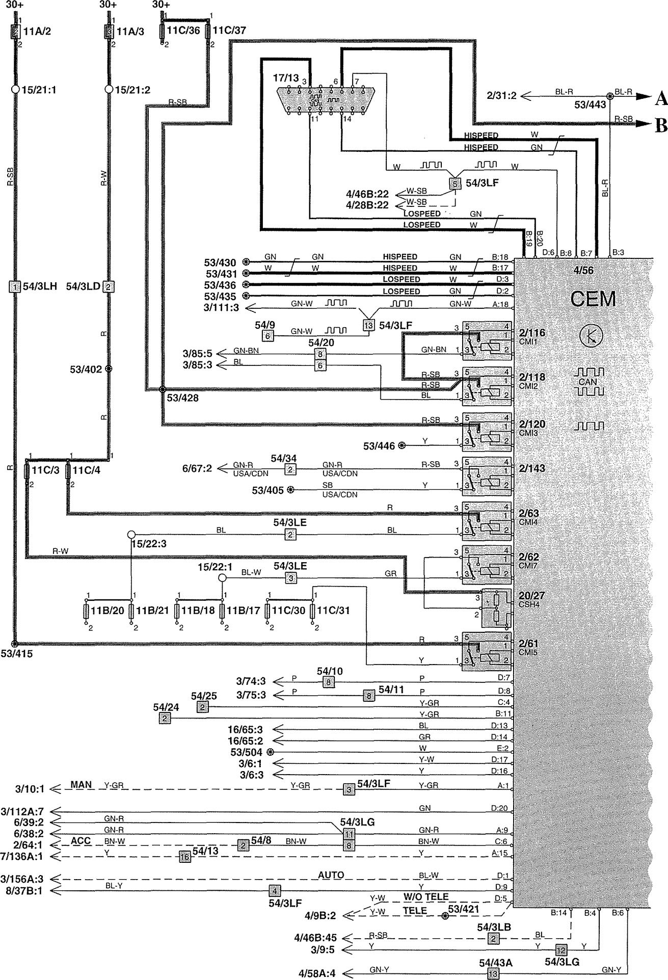 Wiring Diagram Volvo Fe : Volvo v wiring diagrams power distribution