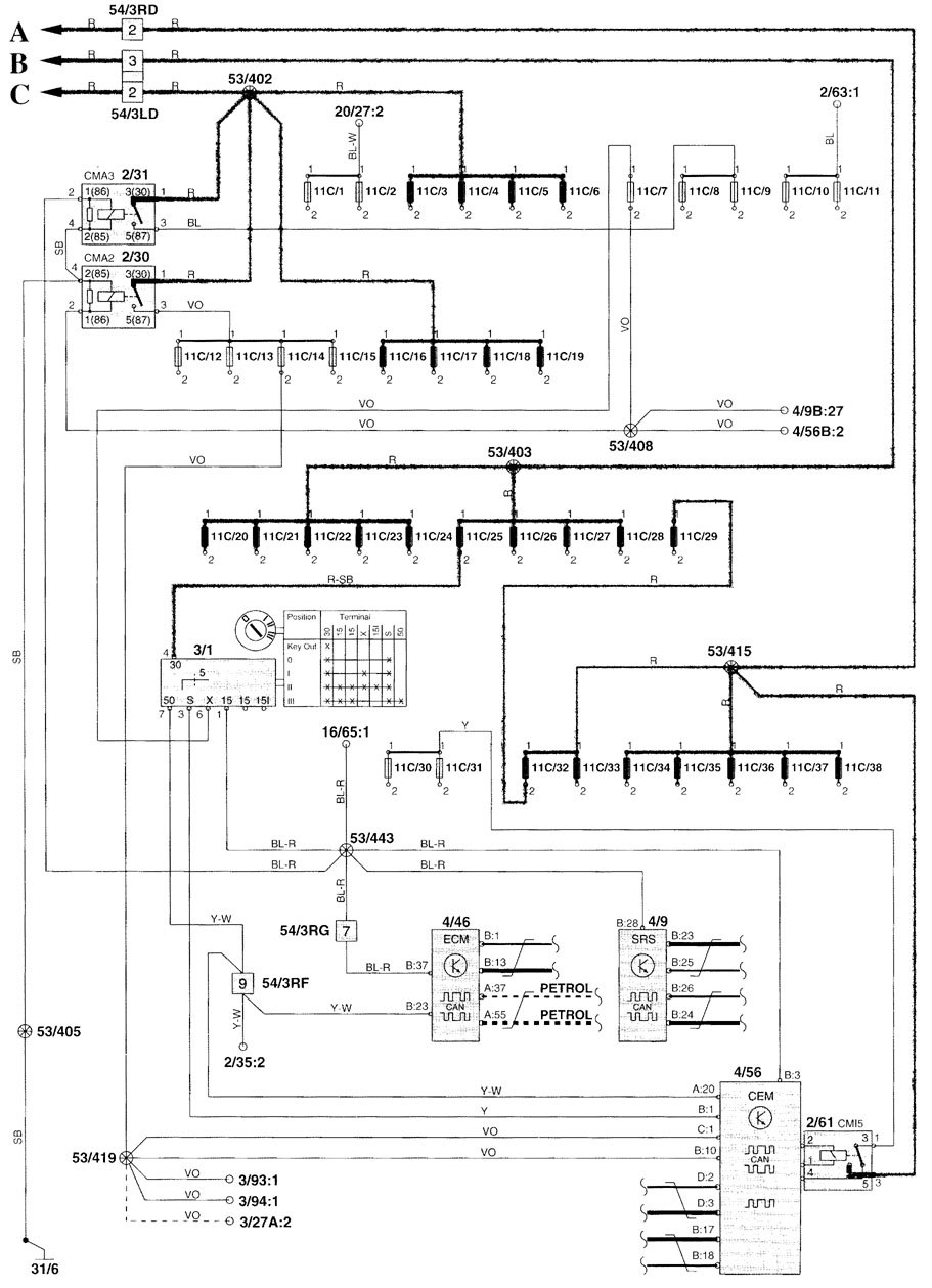 Diagram  2001 Volvo Xc70 Engine Diagram Full Version Hd