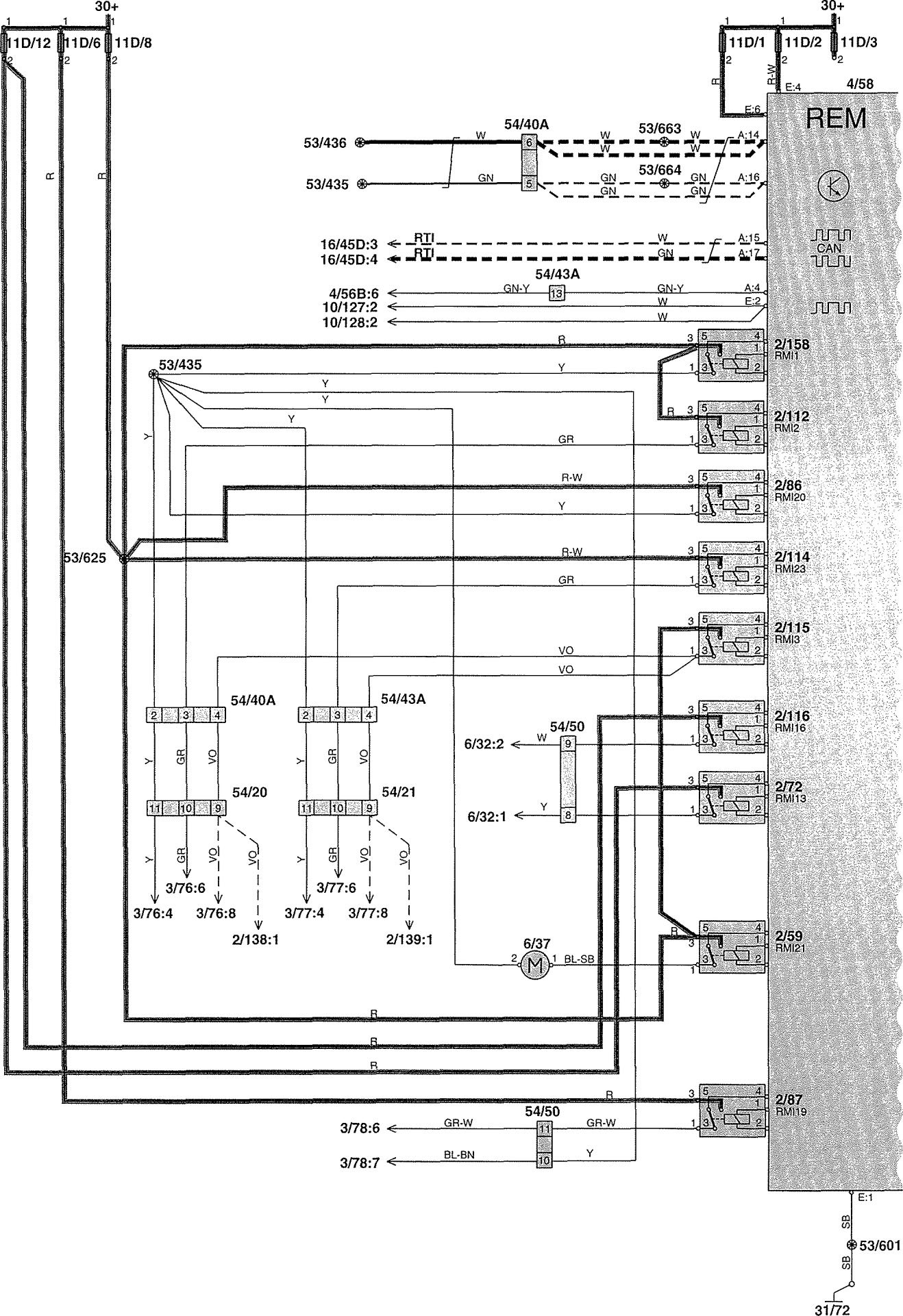 1988 Volvo 740 Radio Wiring Diagram : Volvo radio wiring diagram jeep comanche