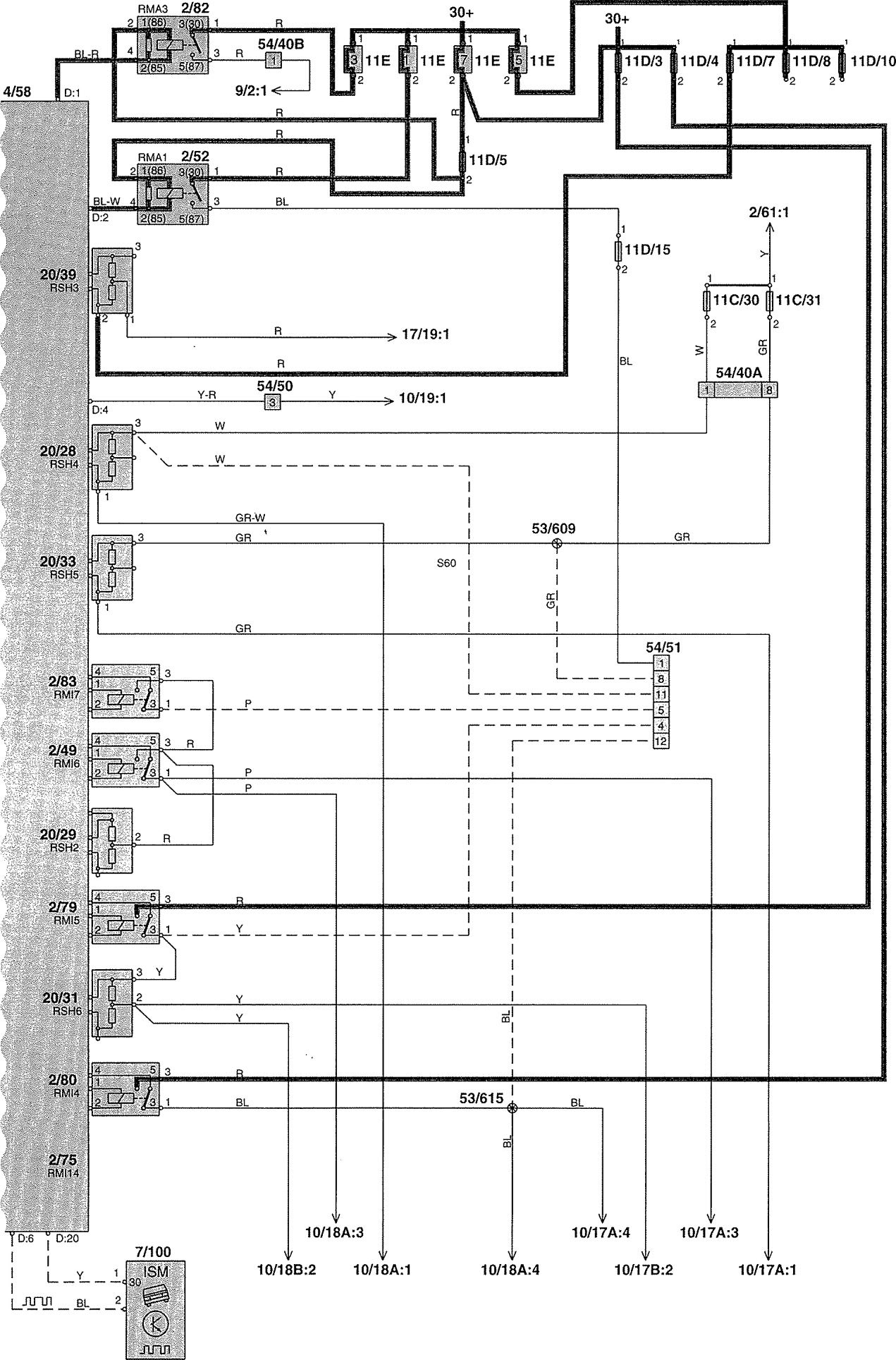 Volvo L120e Wiring Diagram : Volvo v wiring diagrams power distribution
