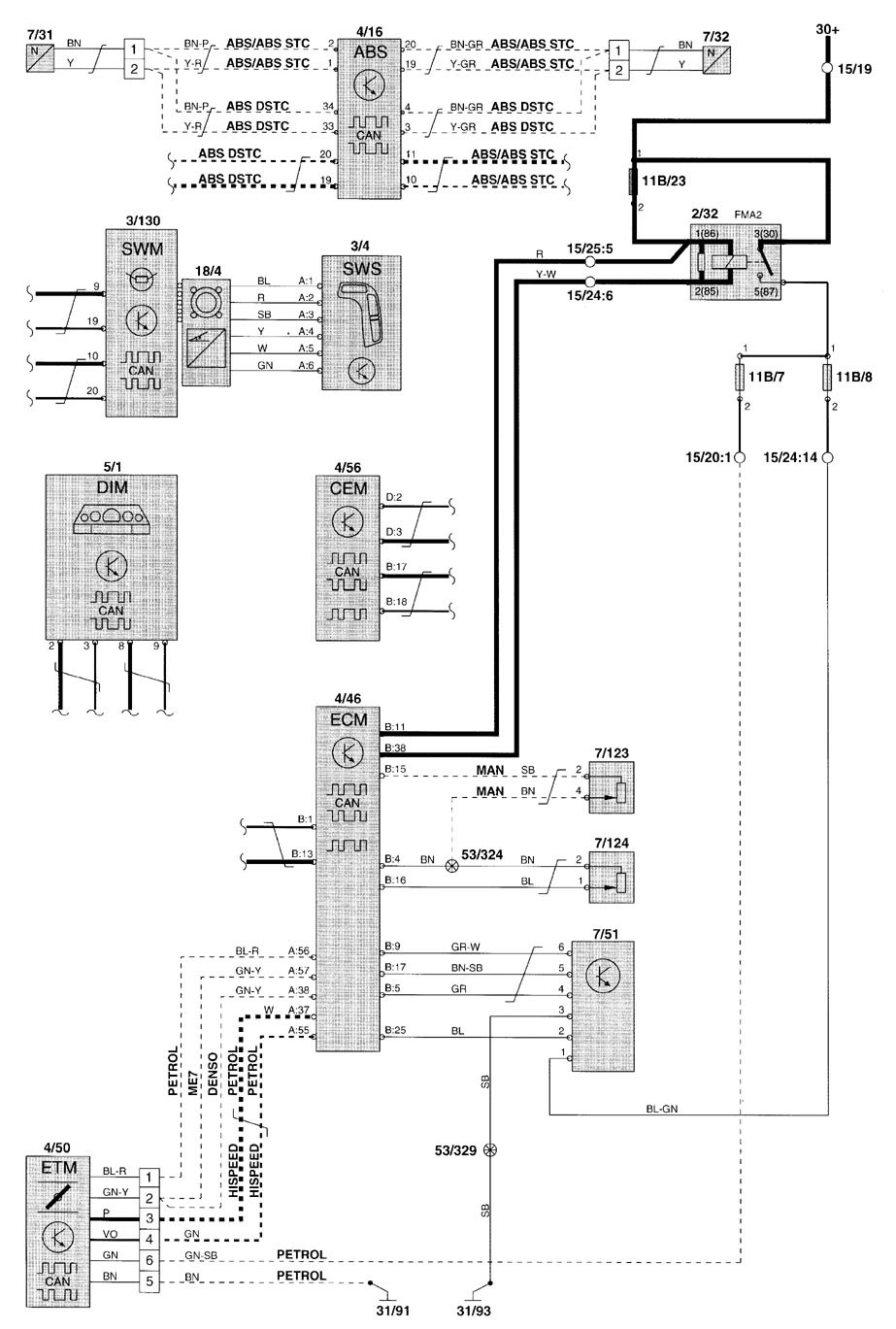 2005 volvo s60 relay diagram