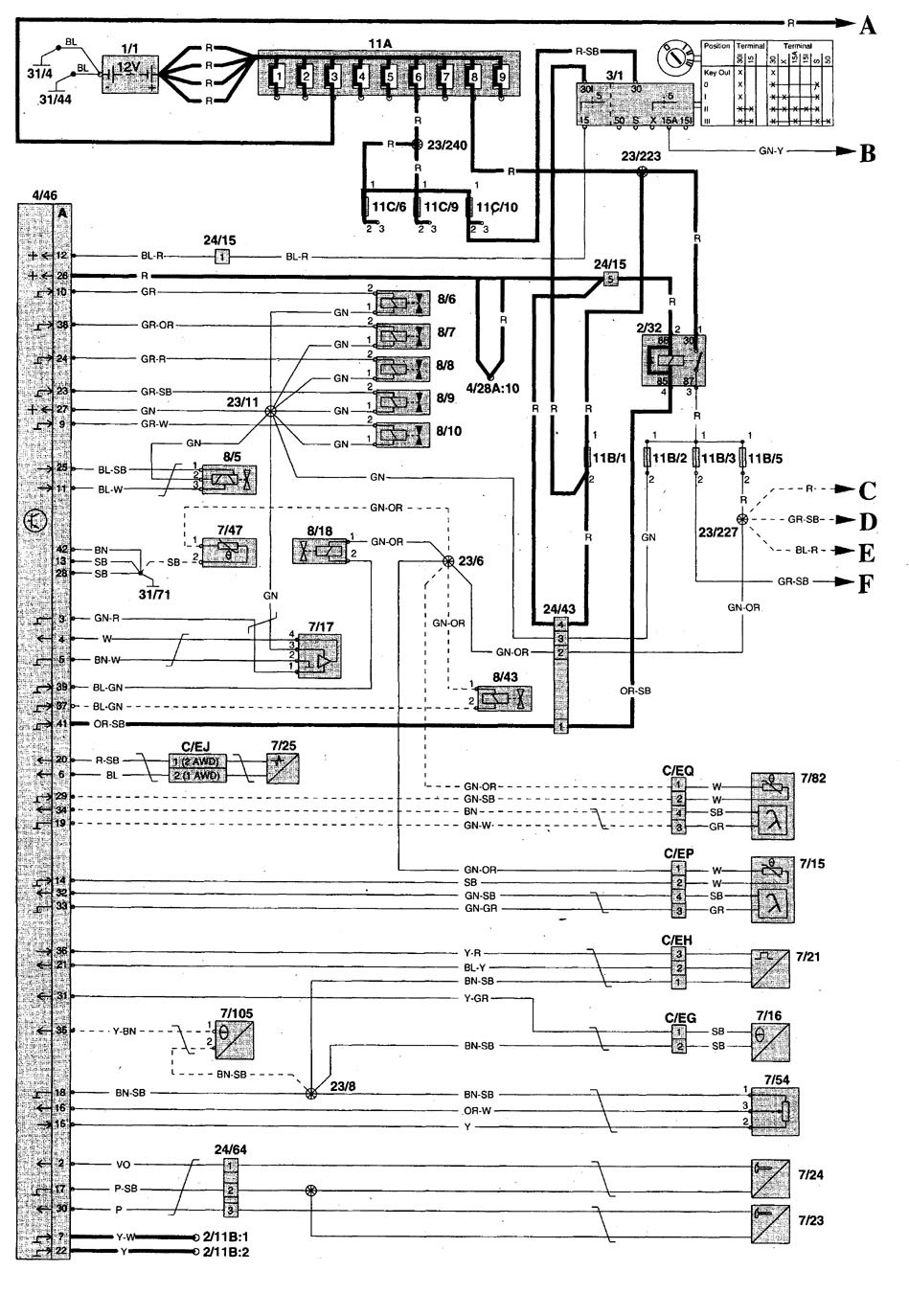 Volvo L120e Wiring Diagram : Volvo c wiring diagrams fuel pump carknowledge