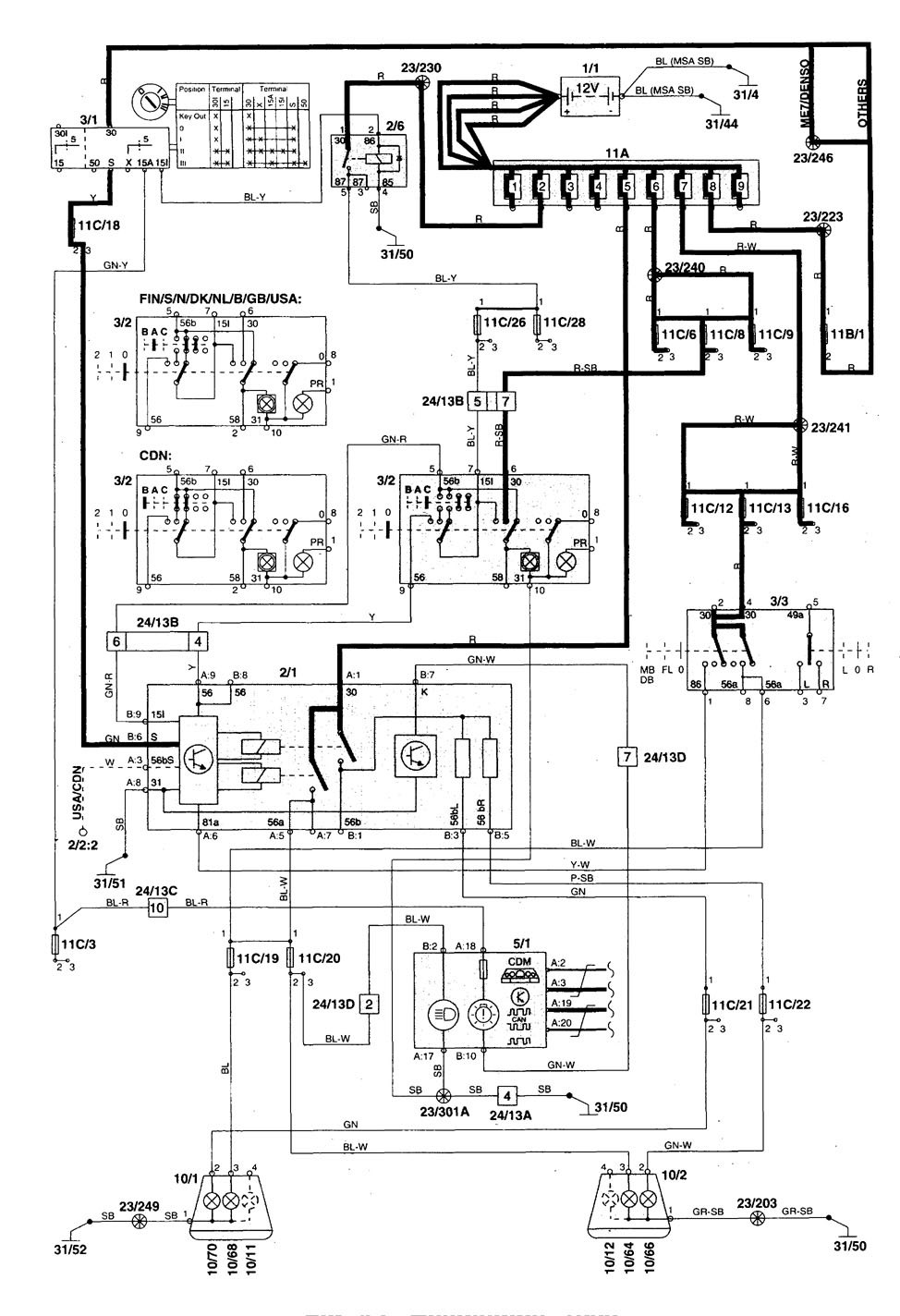 Volvo c wiring diagram images
