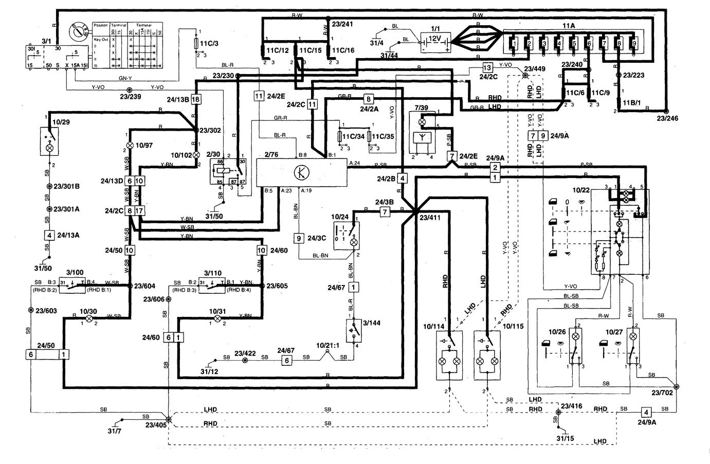 Volvo C70 Engine Diagram Wiring For 2004 Diagrams 1998 Interior Semi Truck 1999 S70