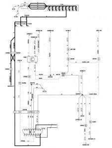Volvo S70 - wiring diagram - diagnostic module