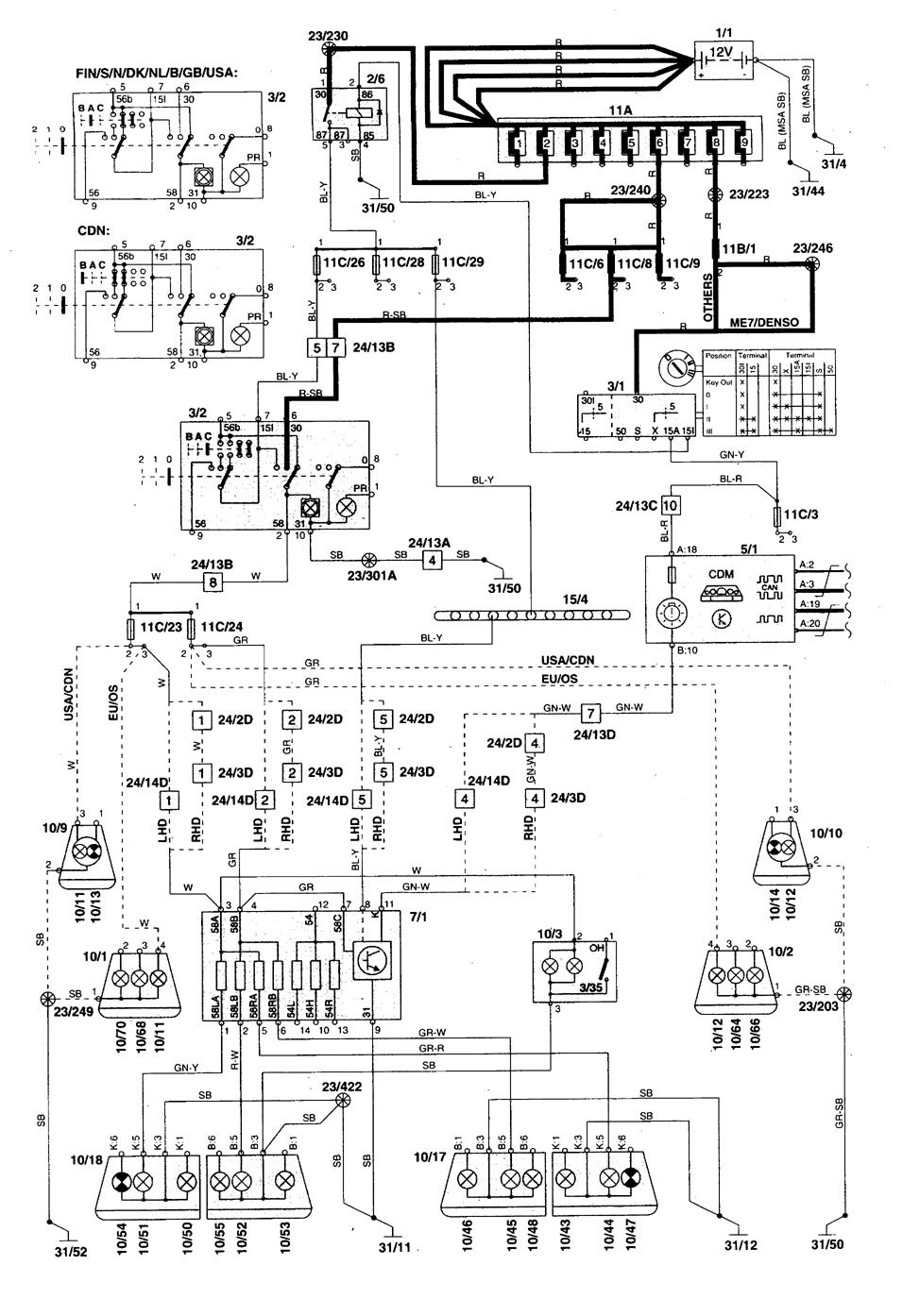 Volvo 850 Voltage Diagram Free Wiring For You Harness 1996 Schematics Rh 18 2 4 Schlaglicht Regional De