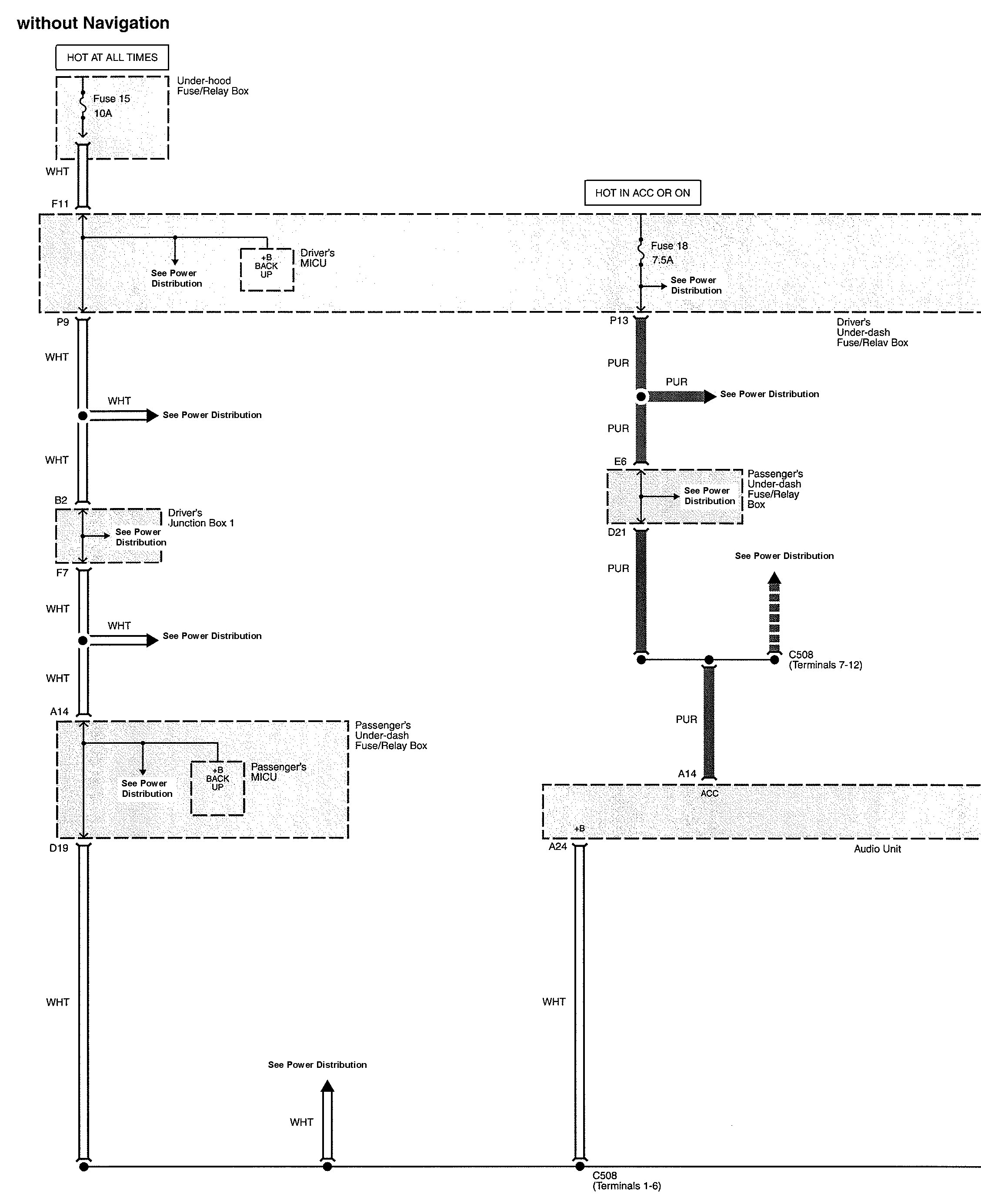 Acura TL (2010) - wiring diagrams - audio - Carknowledge.info   Acura Tl 2010 Wiring Diagram      Carknowledge.info