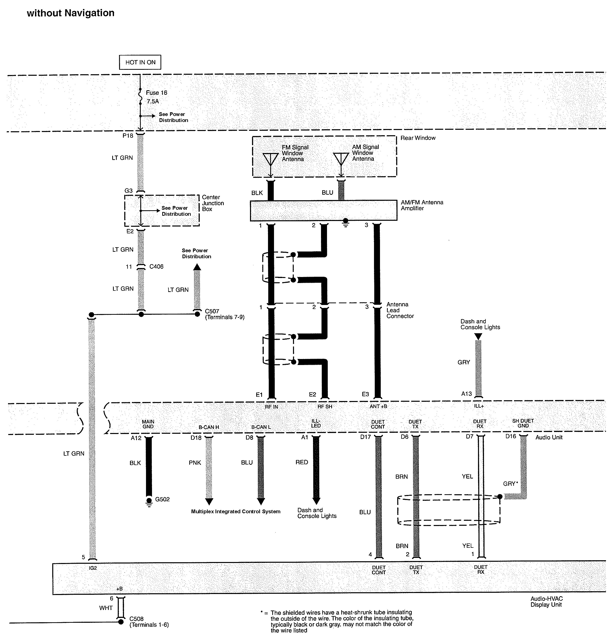 Acura Tl 2010 Wiring Diagrams Audio Carknowledge Diagram Part 1 2