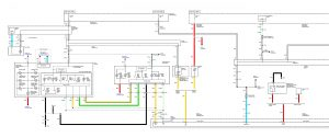 Acura TL - wiring diagram - battery (part 1)