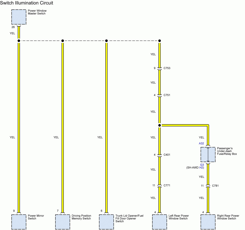 Acura Tl  2011  - Wiring Diagrams