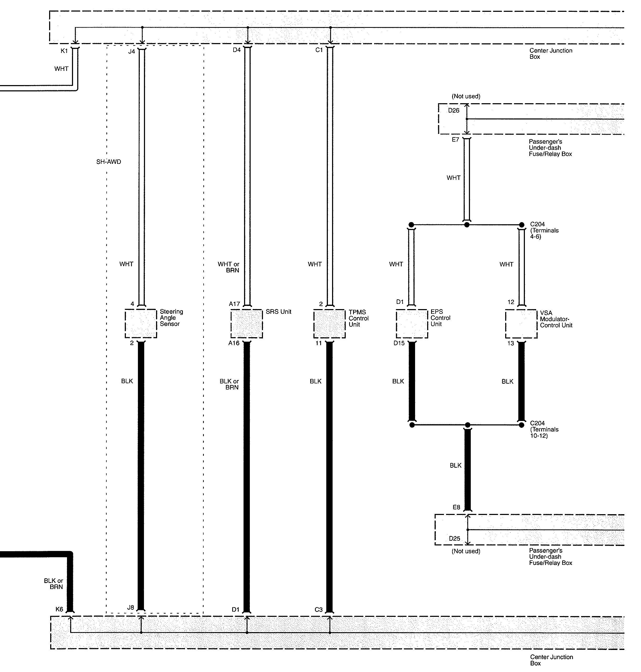 Acura Tl 2010 Wiring Diagrams Diagnostic Socket Carknowledge Junction Box Diagram Part 6