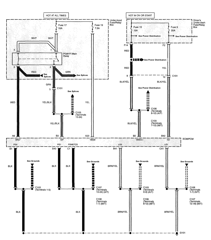 Acura Tl  2010  - Wiring Diagrams