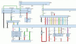 Acura TL - wiring diagram - HVAC controls (part 1)