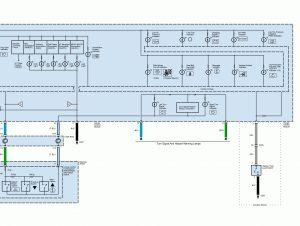 Acura TL - wiring diagram - instrumentation (part 3)