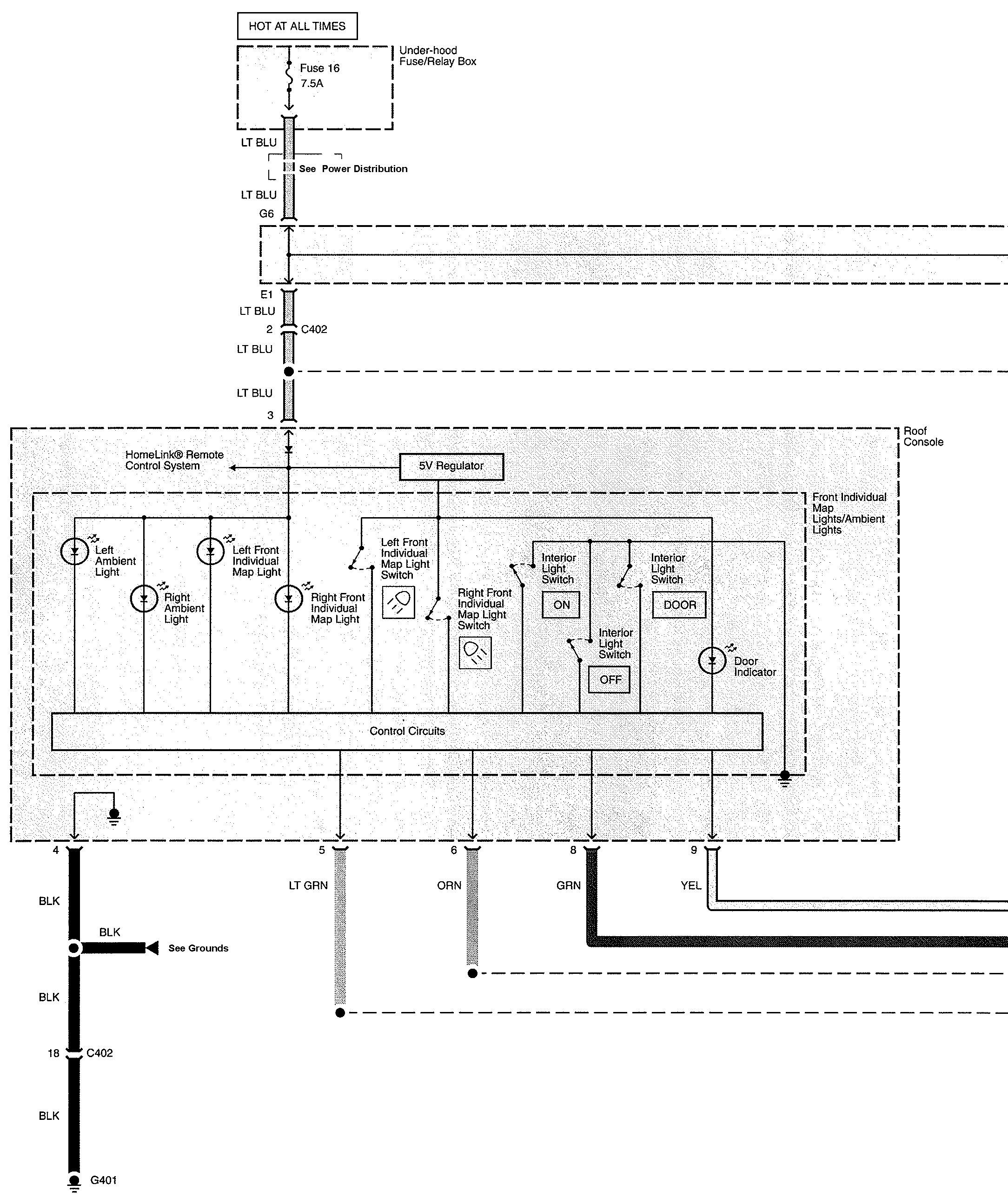 Acura Tl 2010 Wiring Diagrams Interior Lighting Carknowledge Diagram Part 1