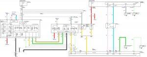Acura TL - wiring diagram - key lamp