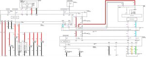 Acura TL - wiring diagram - license plate lamp