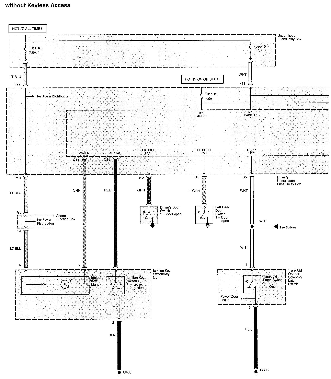 Acura TL (2010) - wiring diagrams - oil warning - Carknowledge.info   Acura Tl 2010 Wiring Diagram      Carknowledge.info