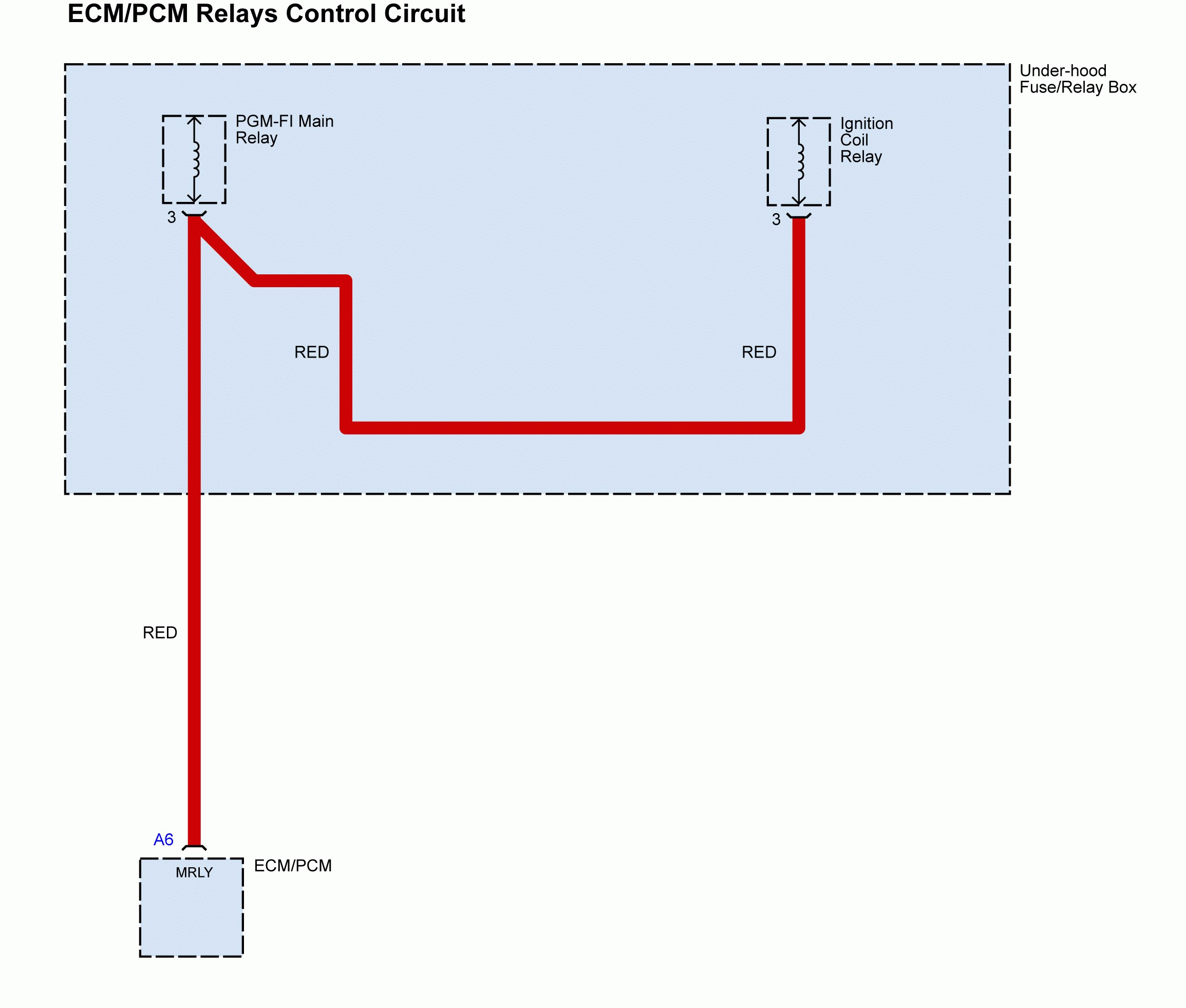 Acura Tl 2011 2014 Wiring Diagrams Splice Carknowledge Ecm Circuit Diagram Pcm Relays Control