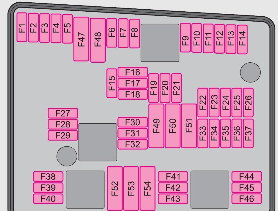 Skoda Octavia  2009   U2013 Fuse Box Diagram