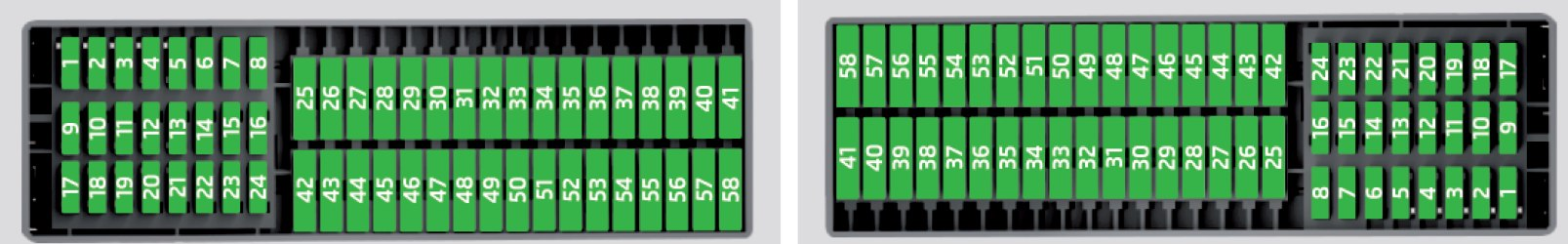 Skoda Rapid  2016   U2013 Fuse Box Diagram