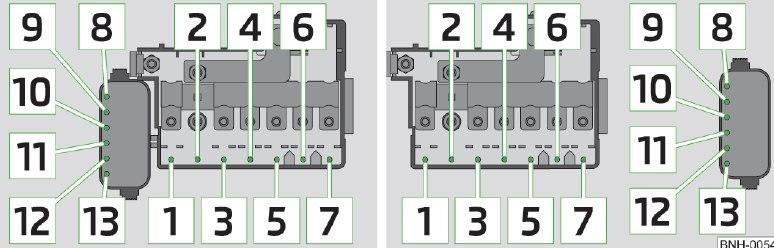 skoda rapid 2014 fuse box diagram carknowledge. Black Bedroom Furniture Sets. Home Design Ideas