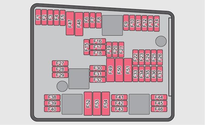 Skoda Yeti  2010   U2013 Fuse Box Diagram