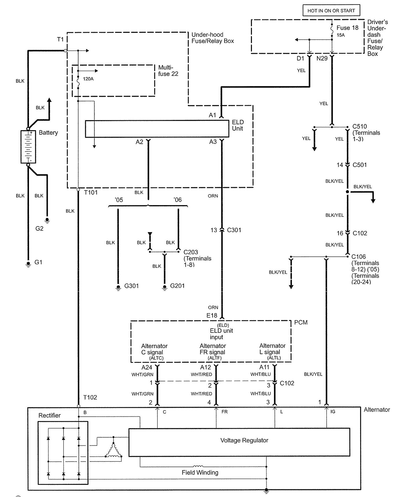 Diagram Of Ac System In 1999 Acura Rl Data Schema Wiring 2006 Bose 33