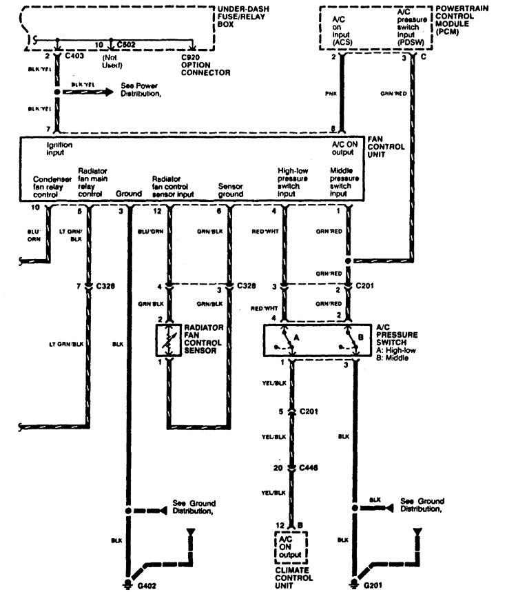 Acura Rl Wiring Diagram Cooling Fans on 1997 Acura Rl Engine Diagram