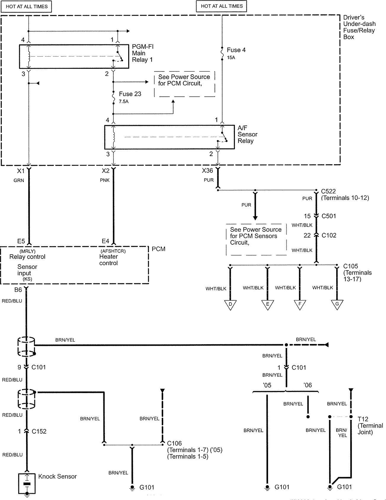 acura rl wiring diagram fuel controls v2 4 2005 cessna 152 wiring diagram wiring diagrams Basic Electrical Wiring Diagrams at gsmx.co