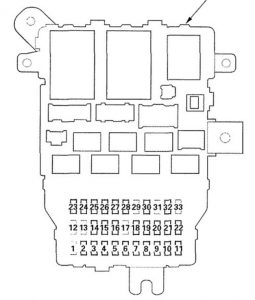 Acura       RL     2007  2008      wiring       diagrams     fuse panel
