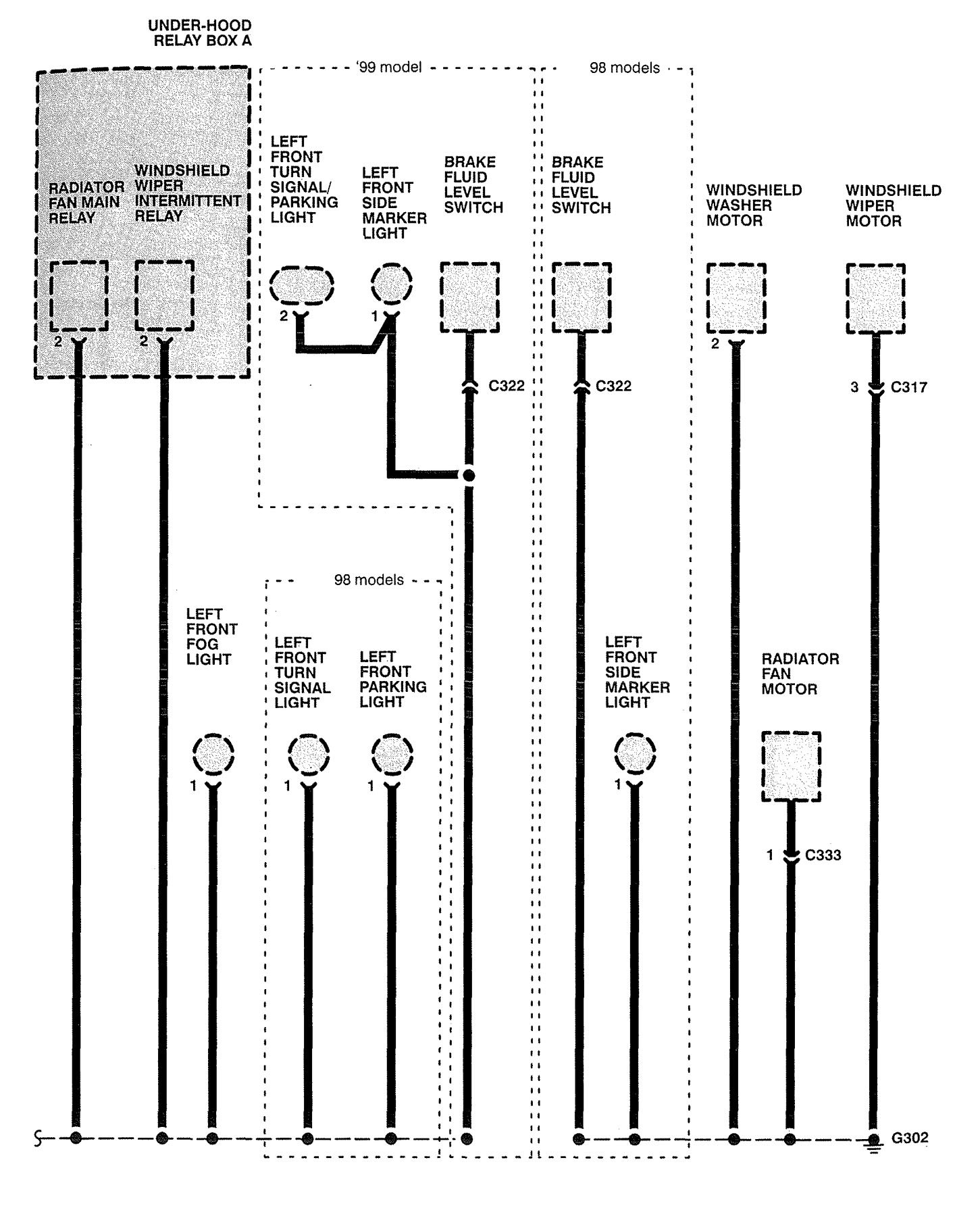acura rl wiring diagram ground distribution v1 5 1996 acura rl (1996 1998) wiring diagrams ground distribution 2001 Dodge Caravan Wiring Diagram at mr168.co