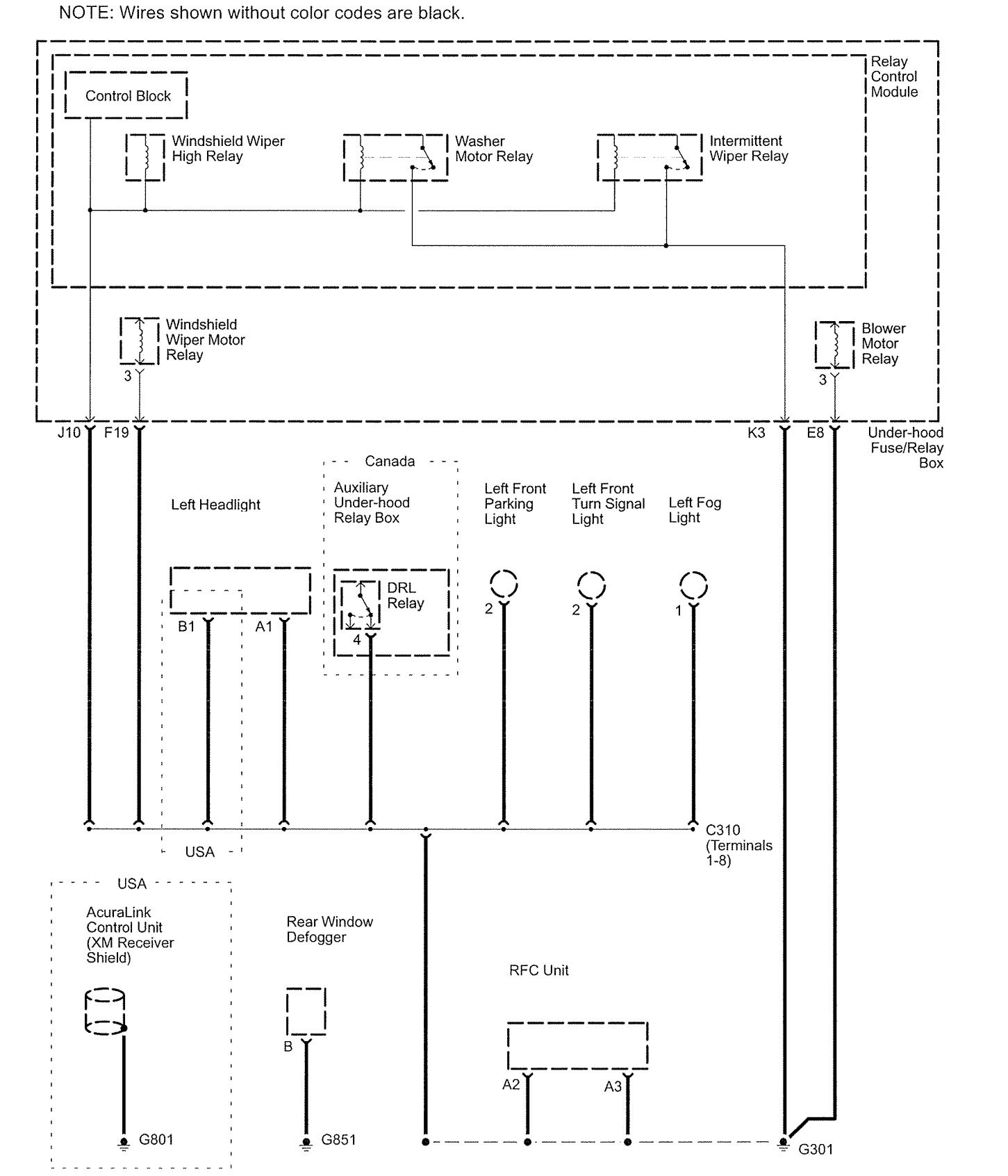 Awesome Wiring Diagram For 1997 Acura Rl Pictures Schematic – Lund Light Wiring Diagram