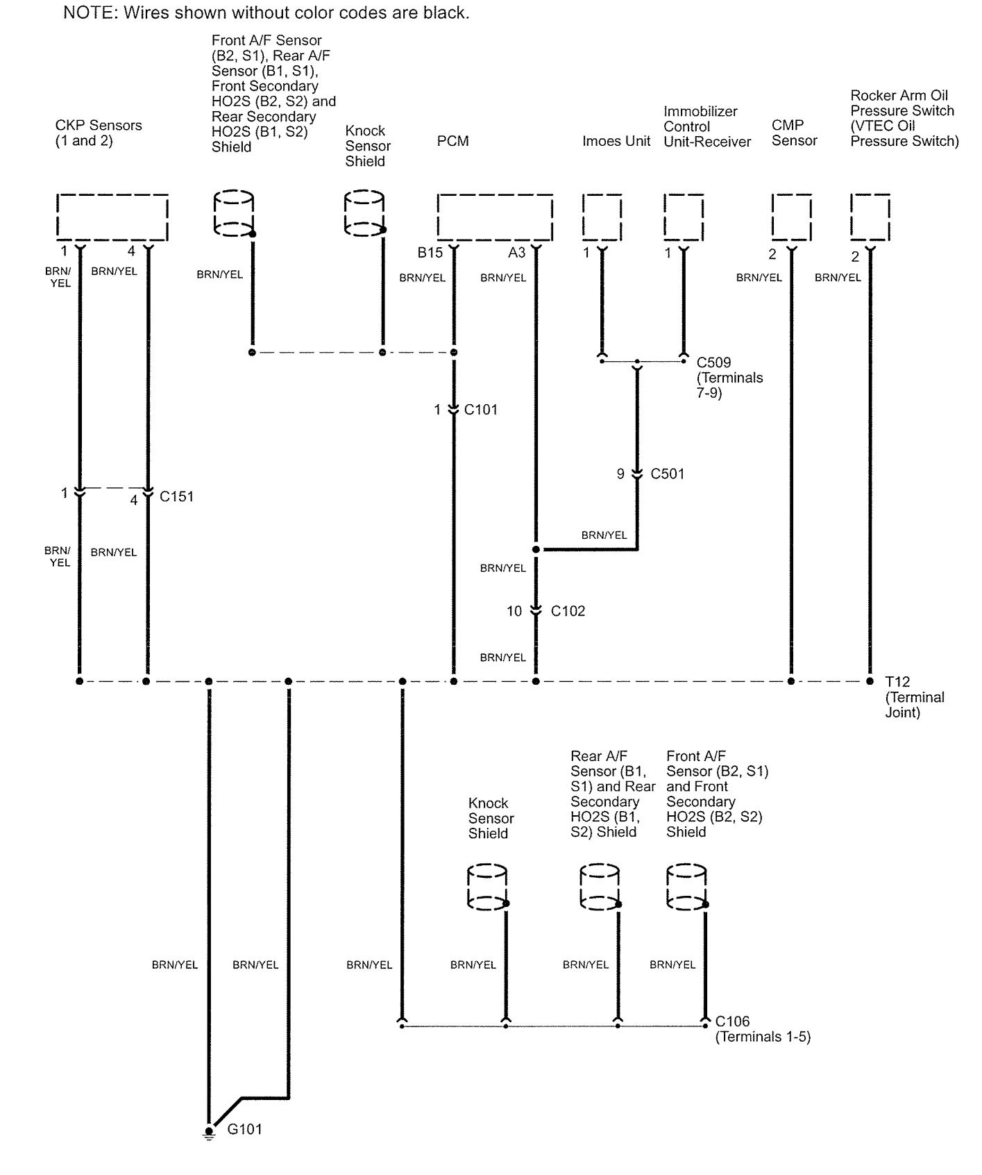 Acura Rl 2006 Wiring Diagrams Ground Distribution Carknowledge Legend Diagram Part 3