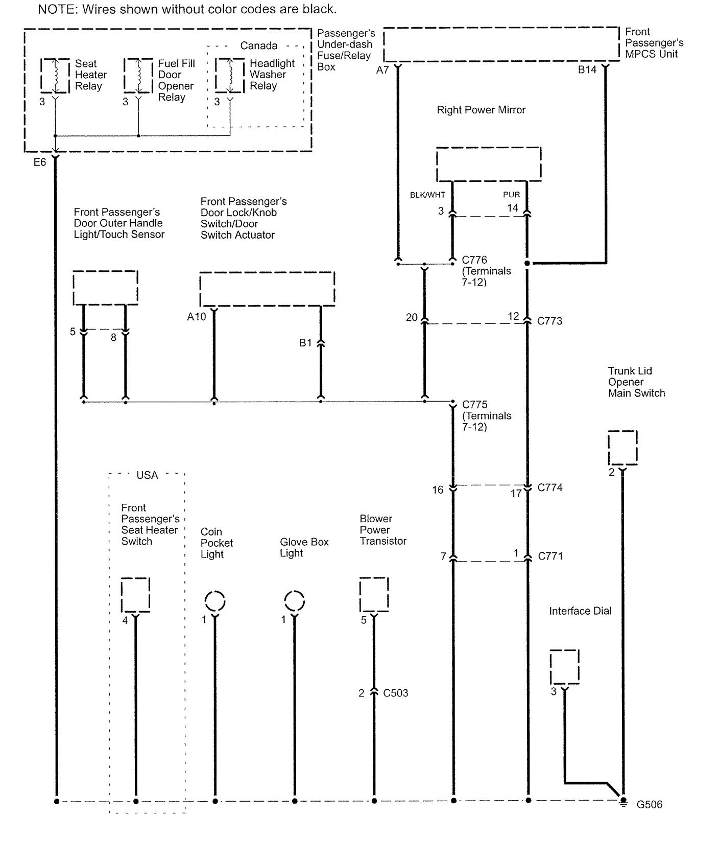 Acura Rl Wiring Diagram Great Design Of 2004 2006 Diagrams Ground Distribution Amp Wire