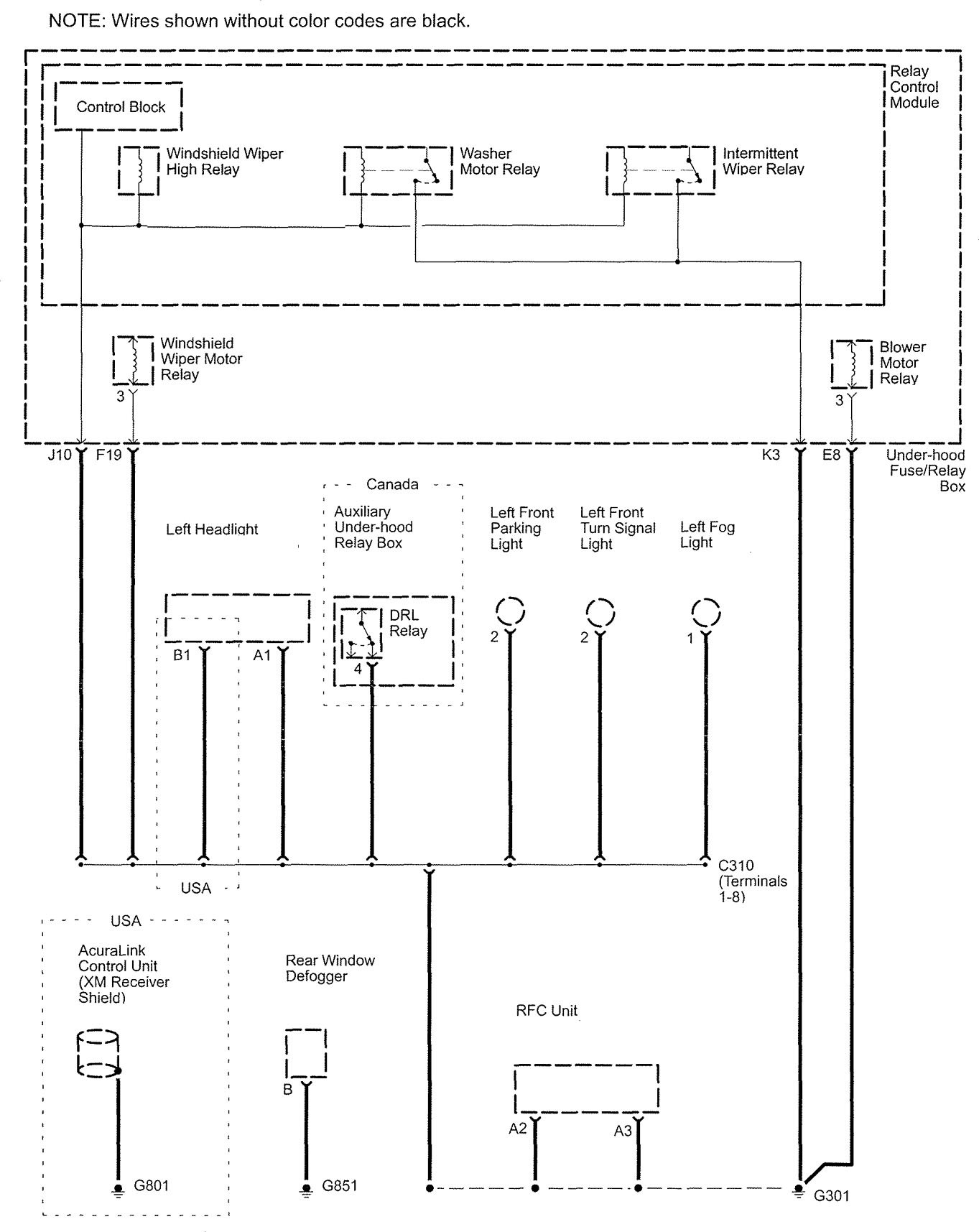 WRG-7265] Radio Wiring Diagram 1998 Acura Slx on