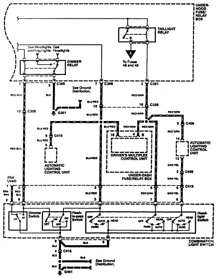 Acura RL (1996 - 1998) - wiring diagrams - headlamp switch ... on mazda 323 wiring diagram, mazda protege 5 wiring diagram, lexus rx300 wiring diagram, jvc car stereo wiring diagram, daihatsu hijet wiring diagram, mazda mpv wiring diagram, mazda b2600 wiring diagram, mazda 3 wiring diagram, mazda b4000 wiring diagram, toyota liteace wiring diagram, mazda b2000 engine diagram, mazda 6 wiring diagram, mazda rx8 wiring diagram, mazda miata wiring diagram, mitsubishi starion wiring diagram, alfa romeo spider wiring diagram, mazda b2000 wiring diagram, mazda b3000 wiring diagram, 1986 mazda b2000 carburetor diagram, 1987 mazda b2000 vacuum hose diagram,