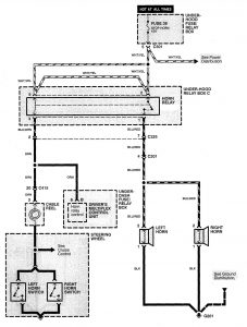 1998 acura rl wiring diagram 2006 acura rl wiring diagram acura rl (1998) - wiring diagrams - horn - carknowledge #5