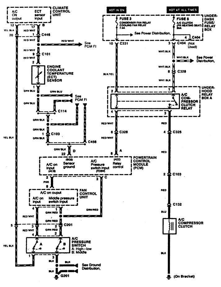 acura rl  1996 - 1999  - wiring diagrams