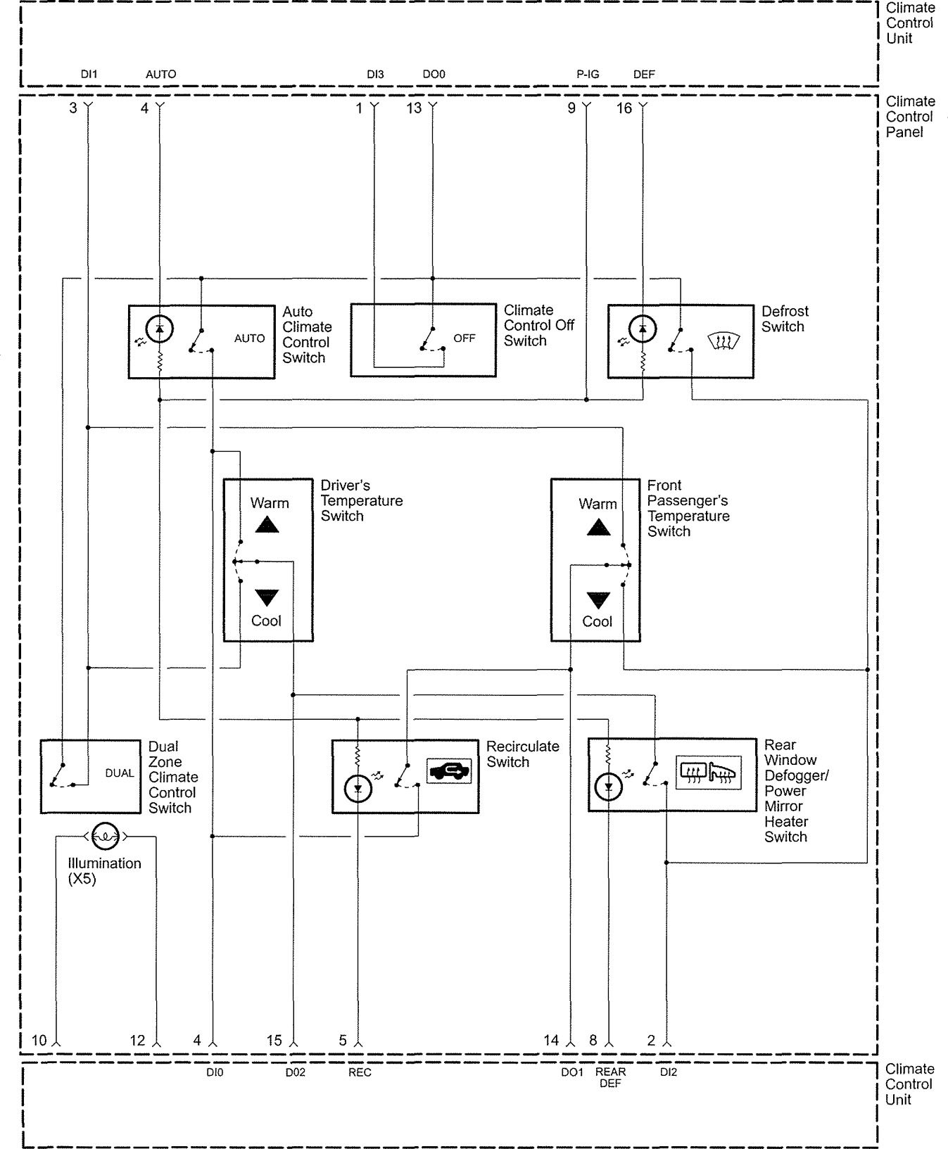 acura rl wiring diagram hvac controls v1 3 2005 acura rl (2005) wiring diagrams hvac controls carknowledge hvac control wiring diagram at gsmx.co
