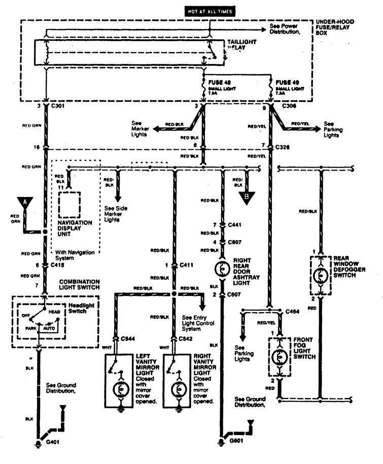 1998 acura rl fuse box 1998 acura rl wiring diagram