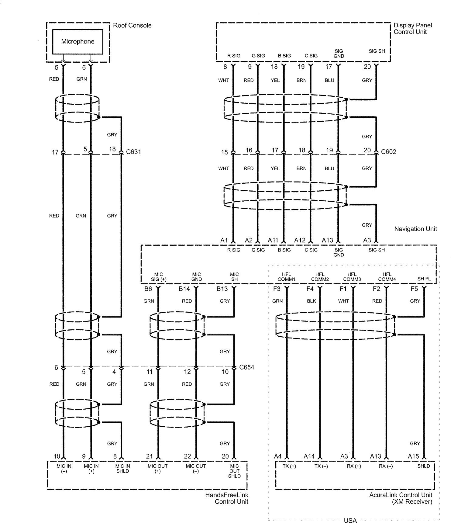 acura rl  2006  - wiring diagrams