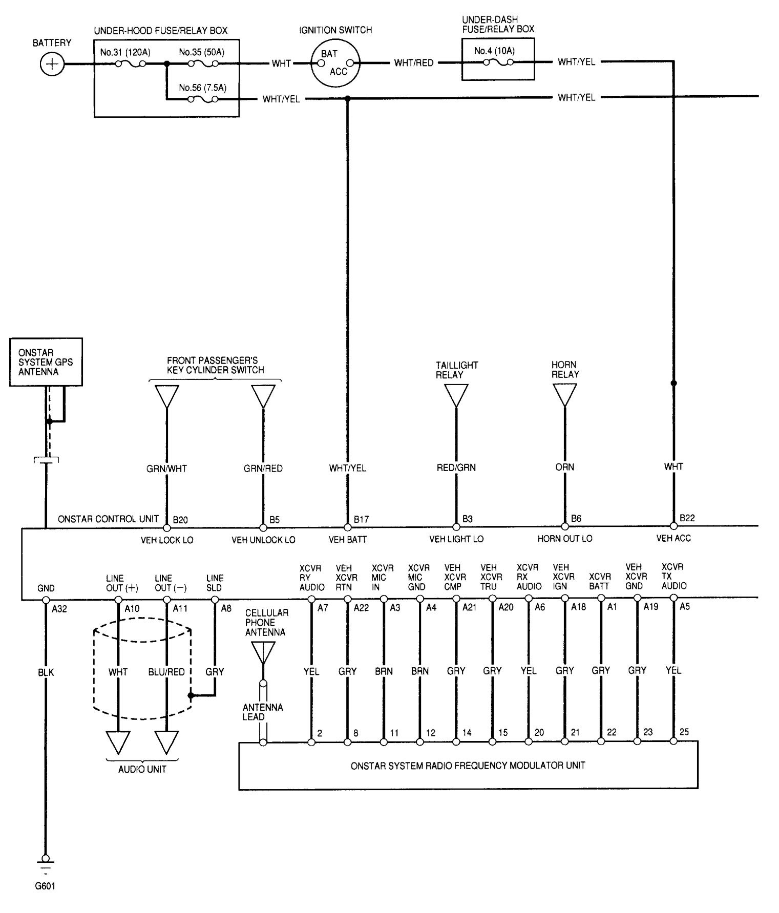 Acura Rl  2002  - Wiring Diagrams
