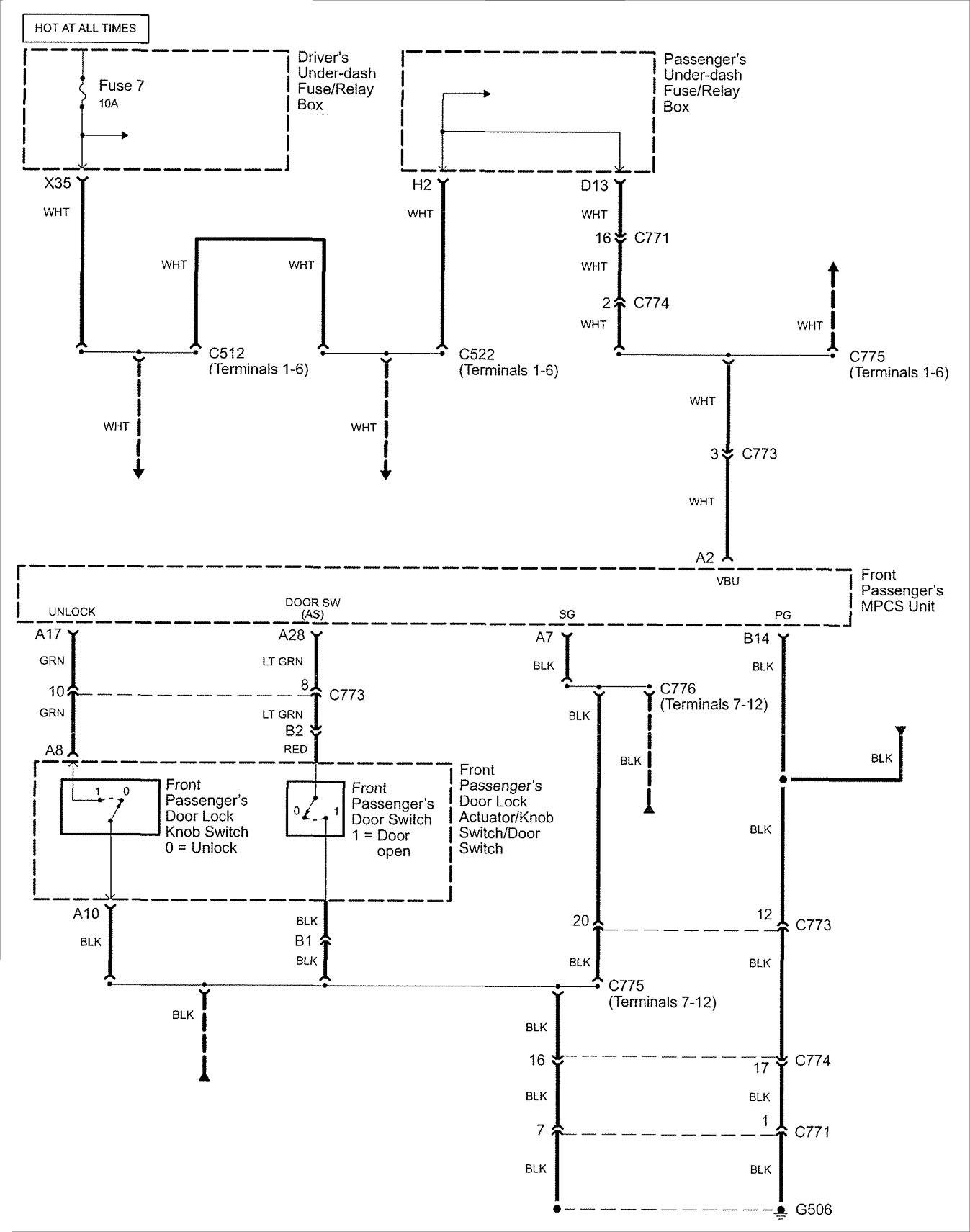 Acura Rl 2007 2008 Wiring Diagrams Security Anti Theft Diagram Part 3