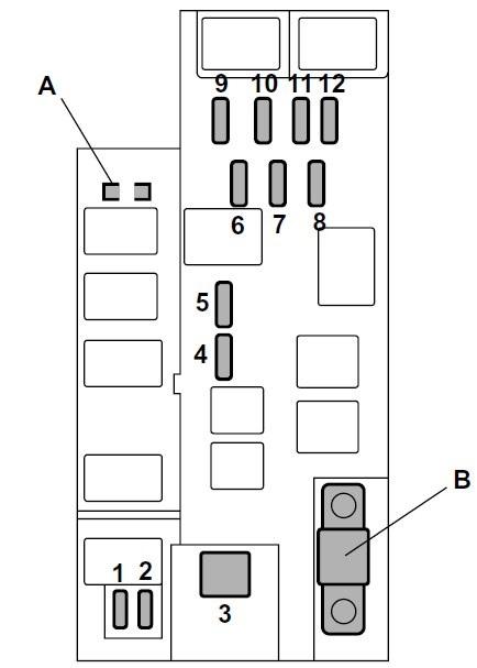 2003 subaru forester radiator diagram