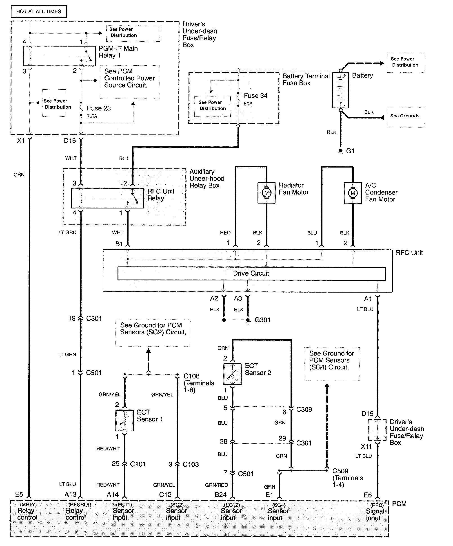 Acura Rl  2009 - 2011  - Wiring Diagrams