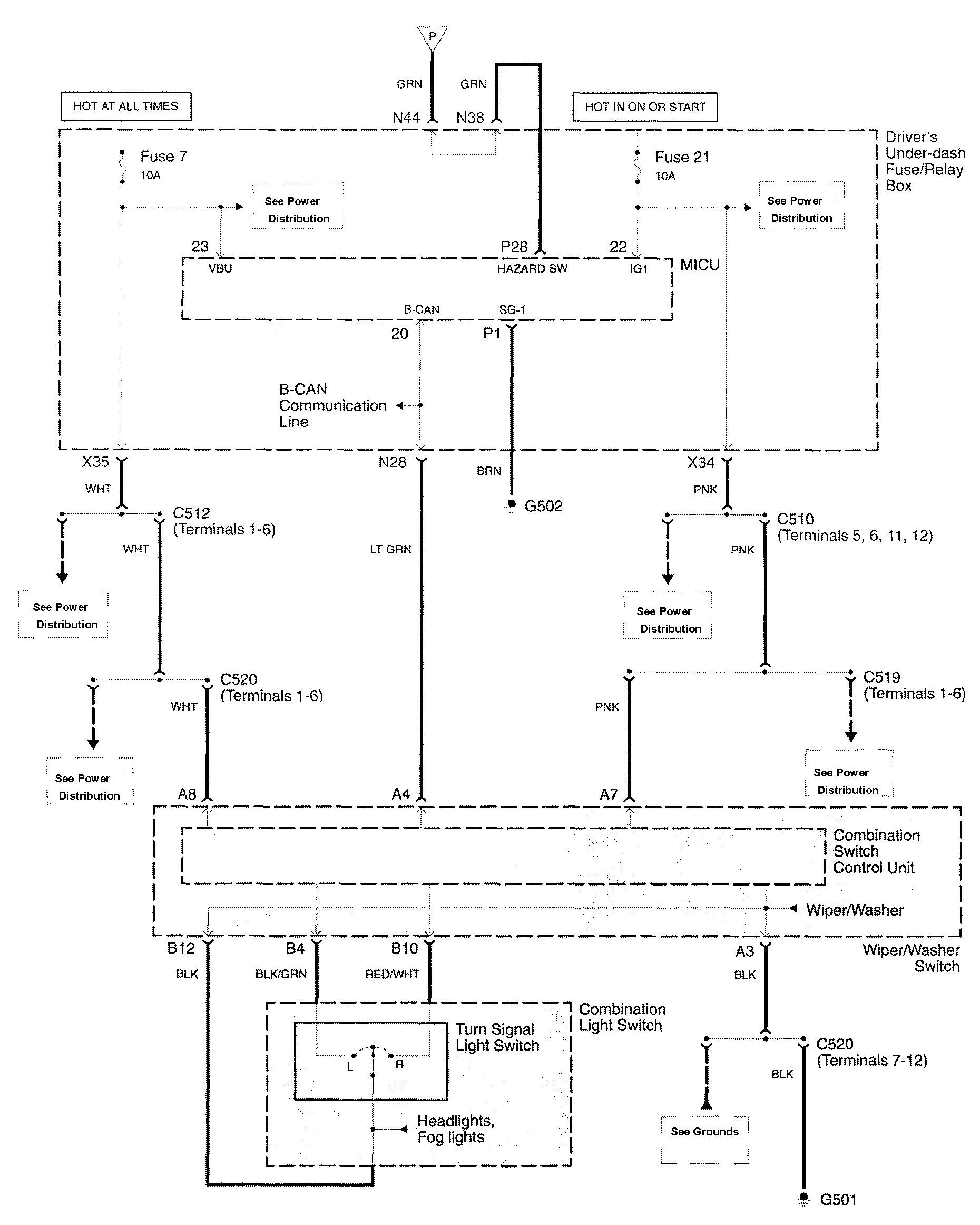 Wiring Diagram Exterior Lighting : Acura rl wiring diagrams exterior lighting
