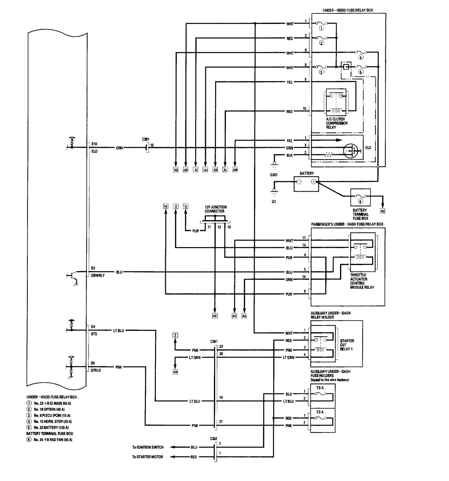 Acura Fuse Box Diagram 2006 Rl 35 Wiring Diagrams 3 5 Engine Cs Hacks Com Relay Assembly Light 2005 Tl