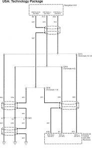 Acura RL - wiring diagram - HVAC control