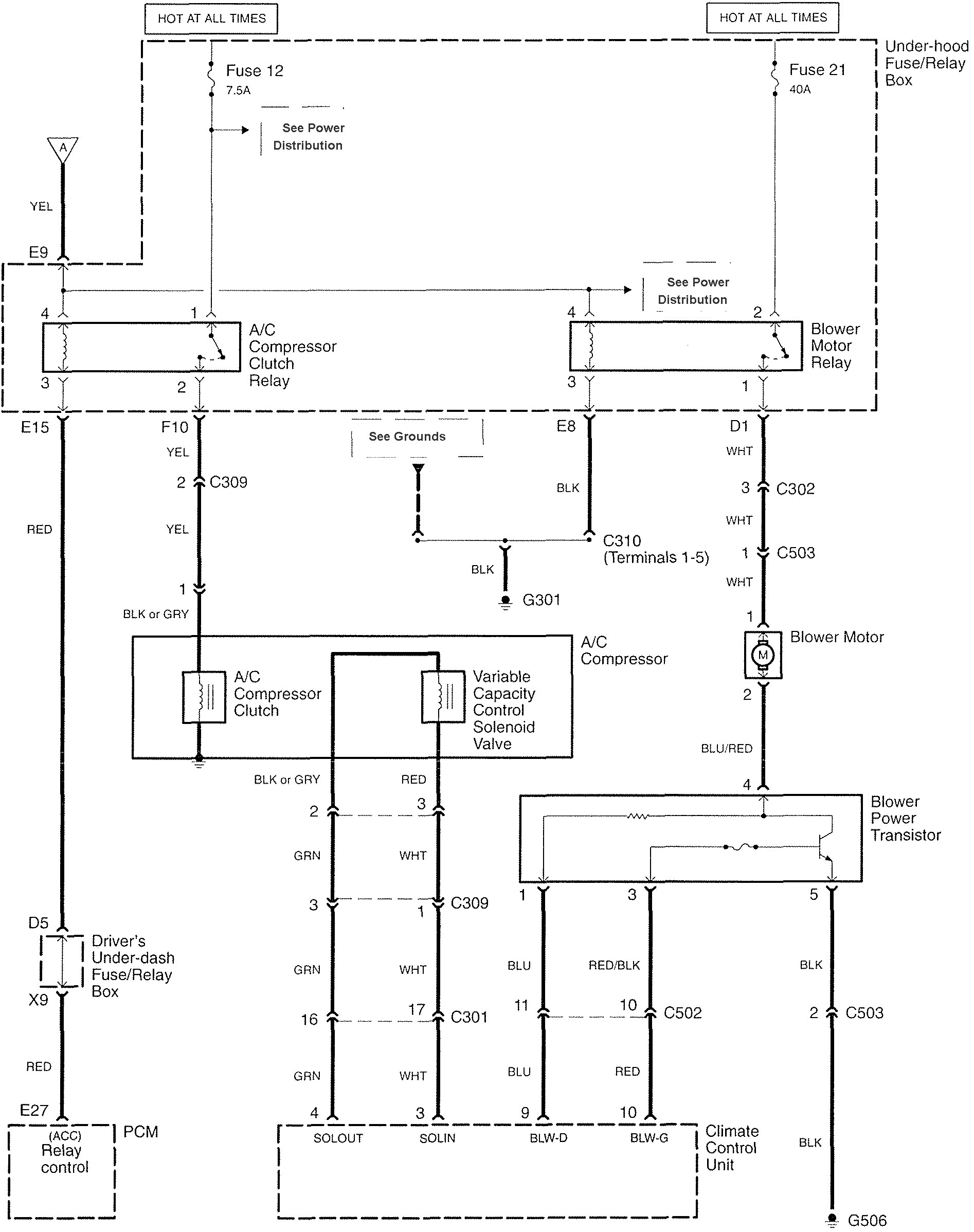 Acura Rl 2008 Wiring Diagrams Hvac Controls Carknowledge Drawing Images Diagram Part 2